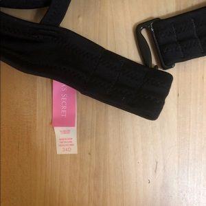 Victoria's Secret Swim - Victoria's Secret Black Racerback Bikini Top
